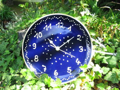 Uhr Bürgeler Keramik