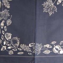 Decke Blaudruck Herbst