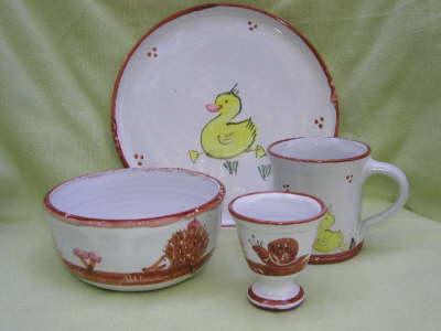 Kindertasse, Müslischüssel, Eierbecher