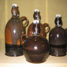 Flaschen Steinzeug