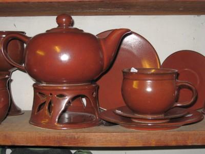 Steinzeug Teekanne 1,5l
