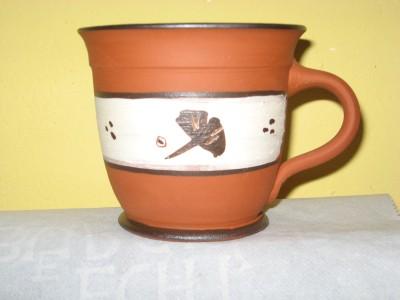 Tasse bauchig Terracotta