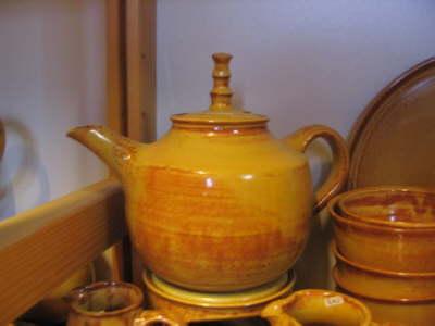 Teekanne elfenbein