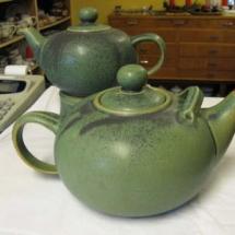 Teekannen Steinzeug