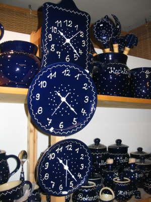 Uhren Echt Bürgeler Keramik